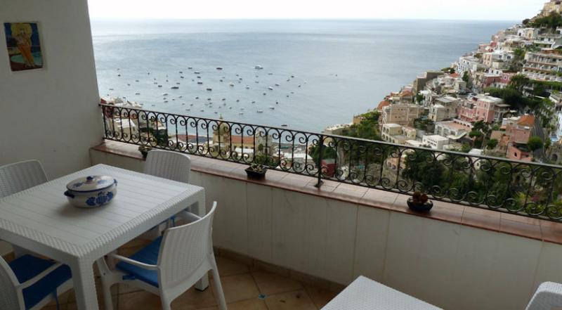 01 Sasà private terrace with Positano view - SASA' - Positano - Amalfi Coast - Positano - rentals