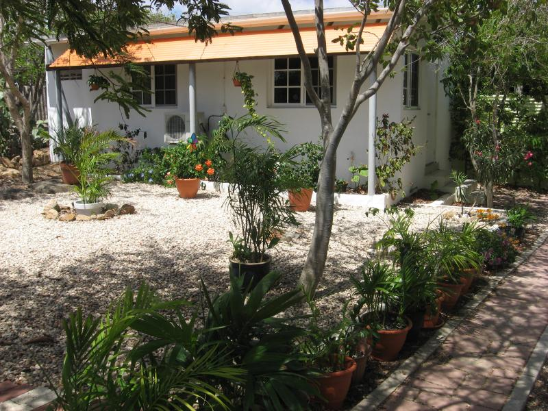 Spacious, well equipped apartment in a big tropical garden. - Beautiful apartment in tropical garden - Oranjestad - rentals