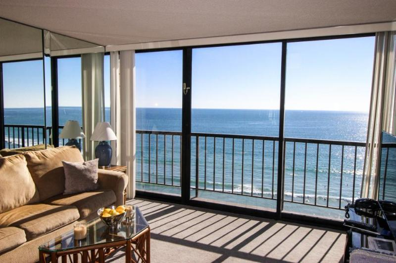 Oceanfront with oceanview balcony, shared pool/hot tub! - Image 1 - San Diego - rentals