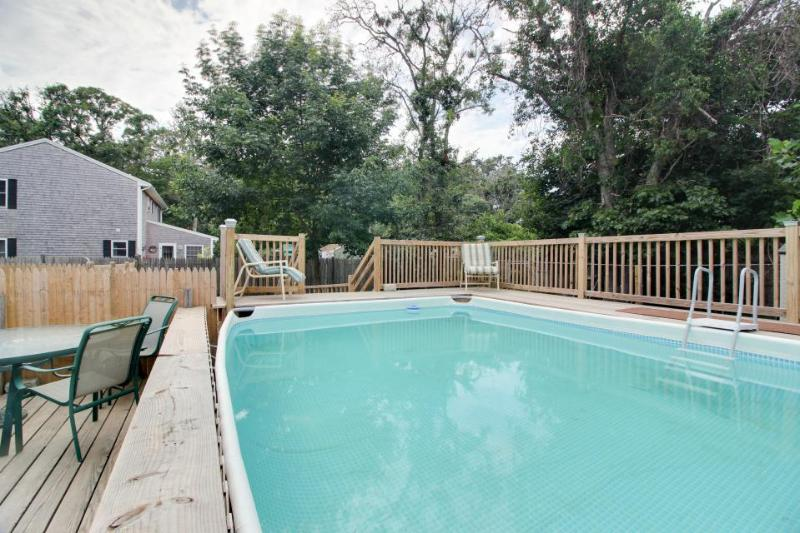Dog-friendly clapboard home with private pool, hot tub, & outdoor shower - Image 1 - Edgartown - rentals