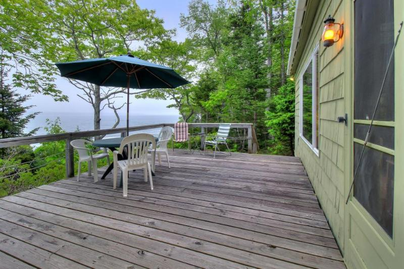 Cozy oceanfront cottage with dramatic views of the Atlantic - Image 1 - South Bristol - rentals