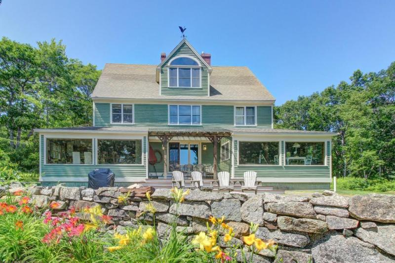 Stunning home overlooking a marsh, tidal river, and ocean! - Image 1 - Kennebunkport - rentals