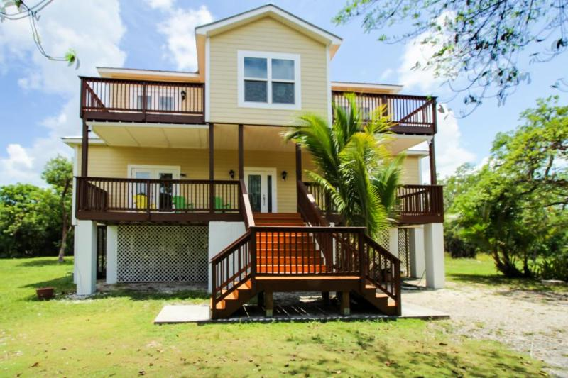 Large, dog-friendly home on three secluded acres w/ balconies, deck, views - Image 1 - Sugarloaf Key - rentals