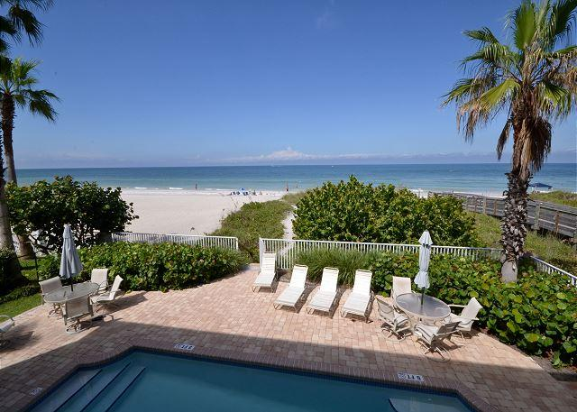 SeaSide 102 - Outstanding Gulf Front Three Bedroom Condo with Pool in 4-Plex! - Image 1 - Indian Rocks Beach - rentals