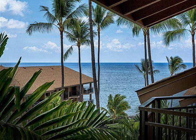 Kona Makai 5305 Top Floor, Ocean View, 1 Bedroom + Loft and 2 Lanais! **New** - Image 1 - Kailua-Kona - rentals