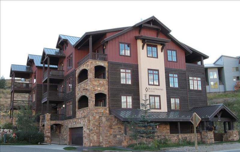 Perfect 2 BR Black Diamond Lodge unit, sleeps 6, hot tub!  Across street from slopes! - Image 1 - Crested Butte - rentals
