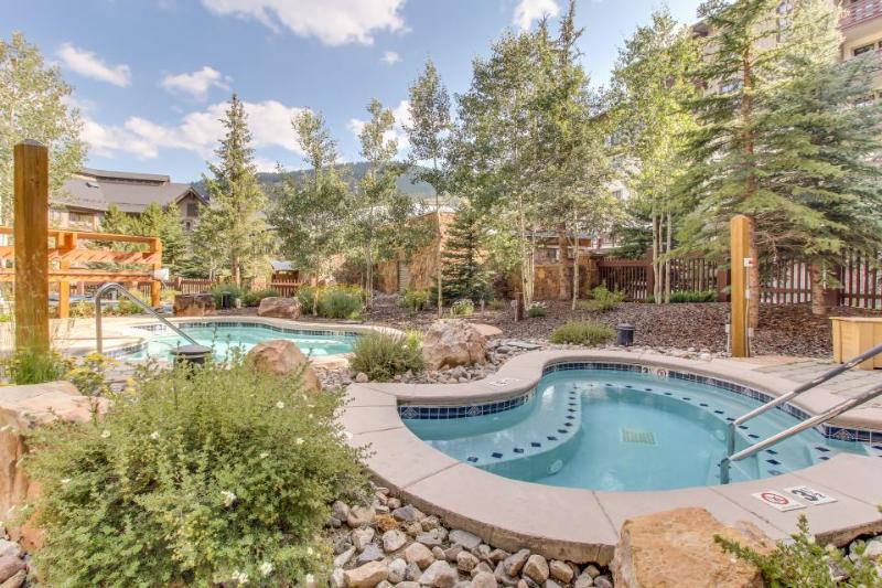 Warm and welcoming condo with access to shared pools, hot tubs, and saunas - Image 1 - Copper Mountain - rentals