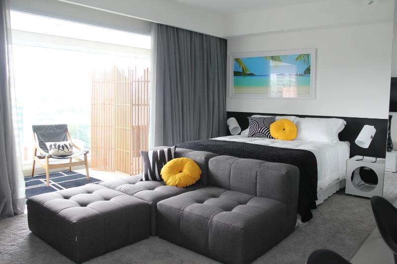 Modern 1 Bedroom Apartment in Brooklin - Image 1 - Sao Paulo - rentals