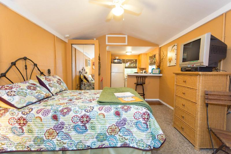 The Bedroom - Cute Cottage near beach and downtown Dunedin - Clearwater - rentals