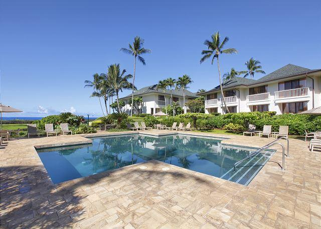 Poipu Kapili pool - Poipu Kapili 20 - Top Floor Oceanfront One Bedroom Condo with Pool - Poipu - rentals