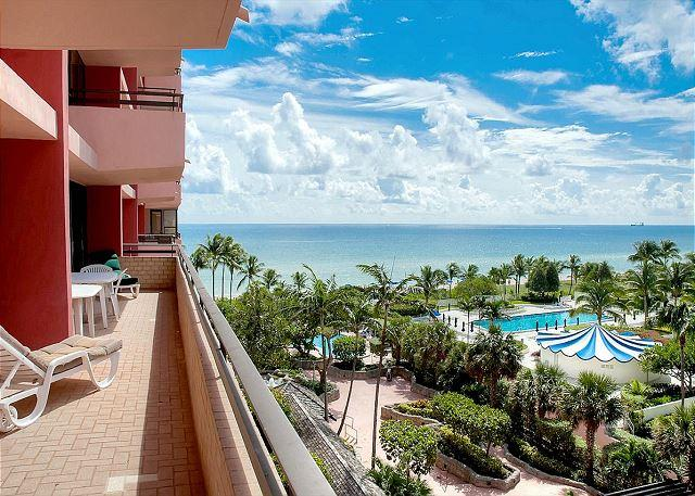 Oceanfront 5 Bedroom Sleeps 15 Panoramic Ocean views Miami Beach - Image 1 - Miami Beach - rentals