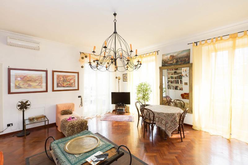 Living Room - Flower Pentouse very close to Trastevere - Rome - rentals