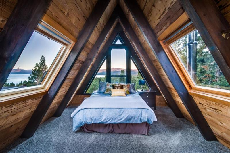 Amazing A-frame cabin with hot tub, 2 fireplaces, & more - Image 1 - Tahoe City - rentals