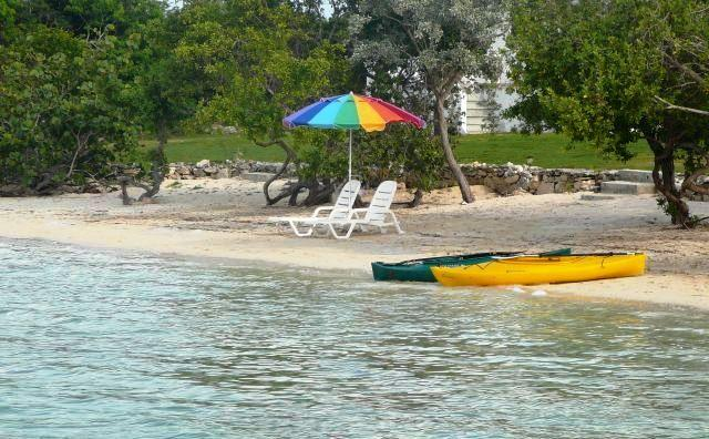 The PERFECT kayaking spot. - Cottage Cut BEACHFRONT  Villas of Exuma - George Town - rentals