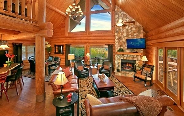 Paradise In The Smokies!  4/3 With Majestic Views! - Image 1 - Pigeon Forge - rentals