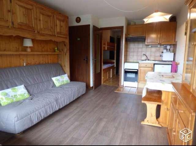 CLAIRIERE Studio + sleeping corner 4 persons - Image 1 - Le Grand-Bornand - rentals
