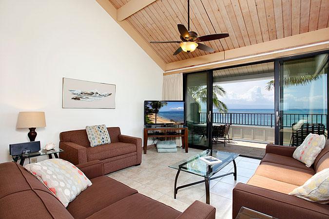 Unit 23 Ocean Front Prime Standard 2 Bedroom Condo - Image 1 - Lahaina - rentals