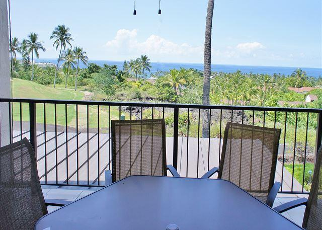 Ocean Views from the Lanai - Country Club Villas #241 - Great Ocean and Golf Course Views! - Kailua-Kona - rentals