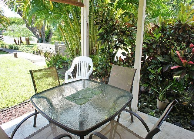 Lanai - Recent Renovation- New Furniture- 2 bed 2 bath townhouse Surf and Racquet-SR 52 - Kailua-Kona - rentals