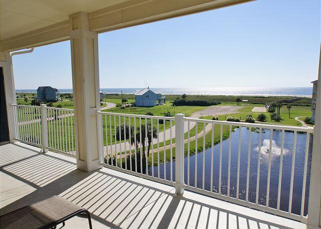 **35% OFF!**Sunrise Sunset beachside condo in Pointe West! - Image 1 - Galveston - rentals
