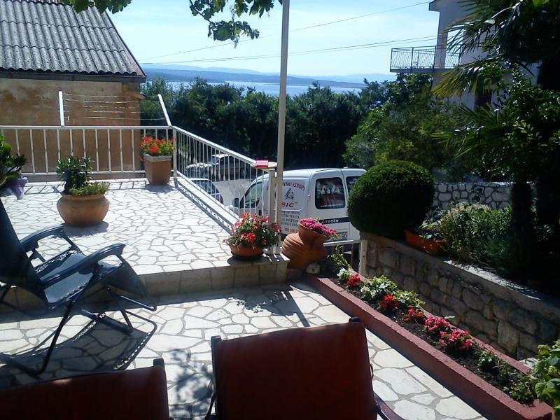 A1(5): terrace view - 5158  A1(5) - Crikvenica - Crikvenica - rentals