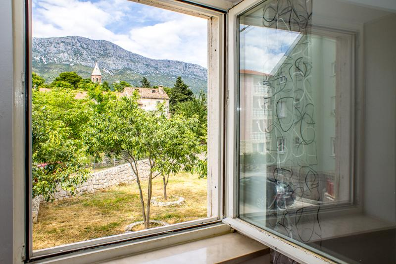 A1(4+2): window view - 8154 A1(4+2) - Kastel Gomilica - Kastel Gomilica - rentals