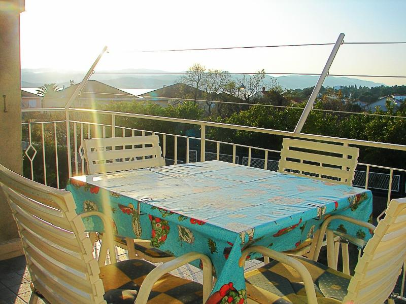 A1(4): terrace - 01217OREB A1(4) - Orebic - Orebic - rentals