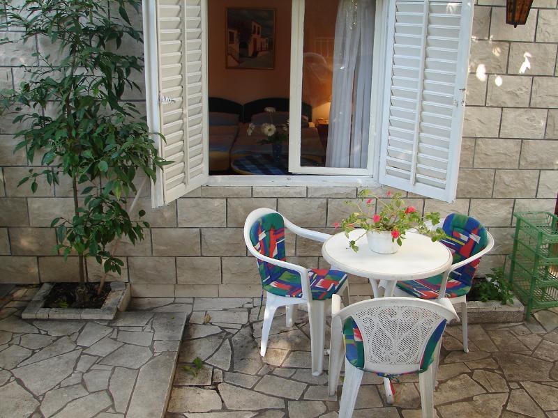 SA1(2): garden terrace - 00917OREB SA1(2) - Orebic - Orebic - rentals