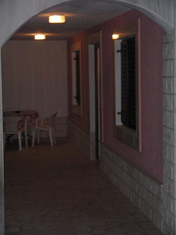 A3(2+1): covered terrace - 001ARBA  A3(2+1) - Mastrinka - Mastrinka - rentals