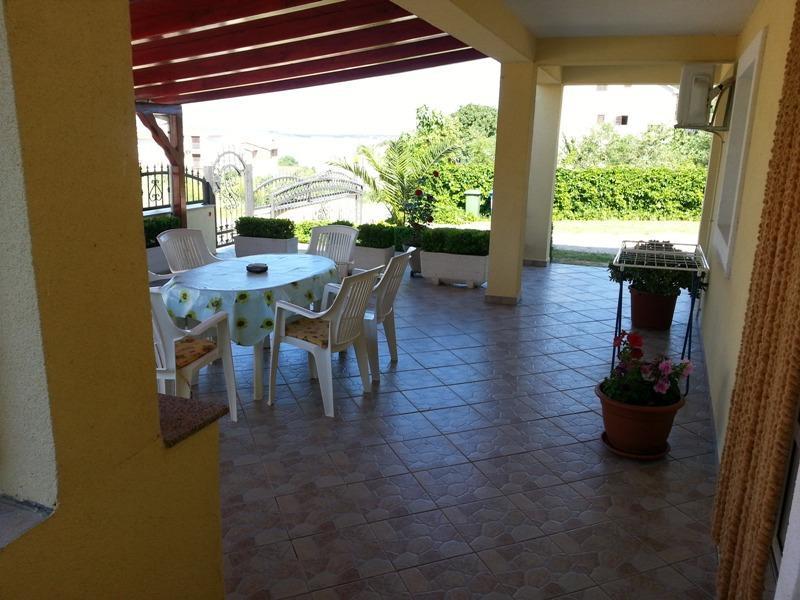 A1(4): garden terrace - 1675 A1(4+2) - Drage - Drage - rentals