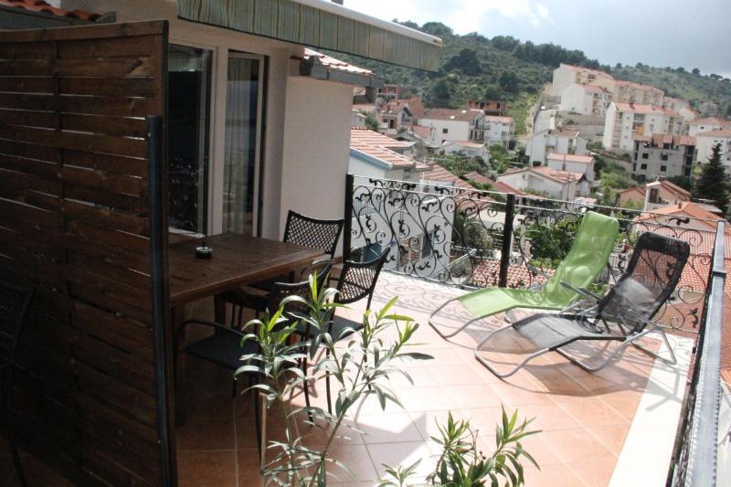 A3(3+2): terrace - 35679 A3(3+2) - Mastrinka - Mastrinka - rentals
