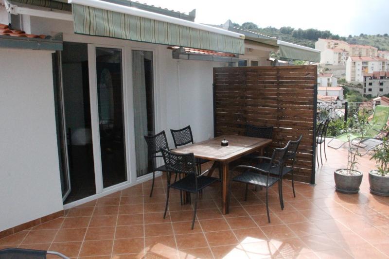 A4(4+2): terrace - 35679 A4(4+2) - Mastrinka - Mastrinka - rentals