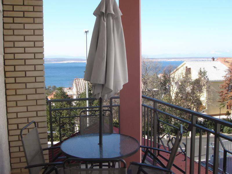 A6 zeleni(2+2): terrace - 2124  A6 zeleni(2+2) - Crikvenica - Crikvenica - rentals