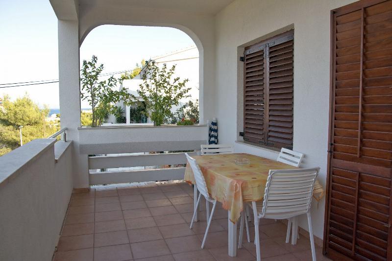 A1(2+2): terrace - 2189  A1(2+2) - Arbanija - Arbanija - rentals