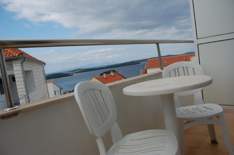 Sunce(2+1): balcony - 00703HVAR Sunce(2+1) - Hvar - Hvar - rentals
