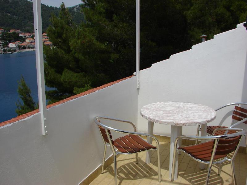 A3(2+1): terrace - 2308 A3(2+1) - Brna - Brna - rentals