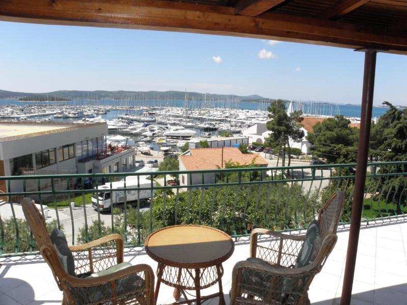 A1(3): terrace view - 2568 A1(3) - Biograd - Biograd - rentals