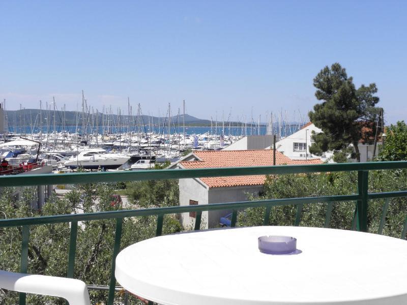A2(2+2): terrace view - 2568 A2(2+2) - Biograd - Biograd - rentals