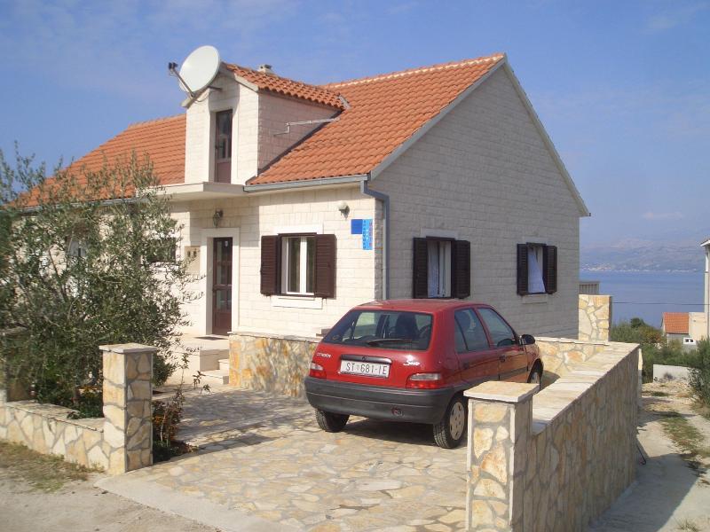 house - 2841 A1(4+1) - Splitska - Splitska - rentals