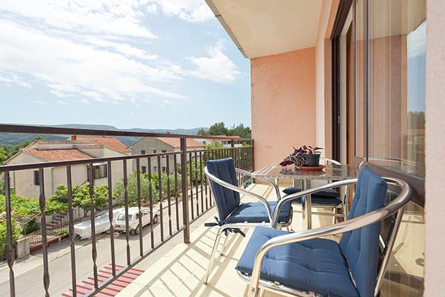 A2(3+1): terrace - 2855  A2(3+1) - Stari Grad - Stari Grad - rentals