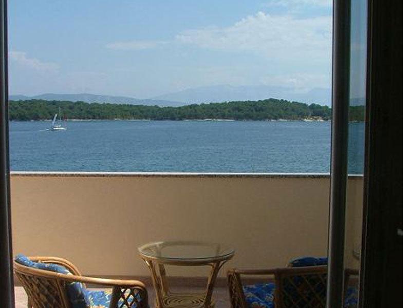 A5(2+1): balcony view - 01603JELS A5(2+1) - Jelsa - Jelsa - rentals