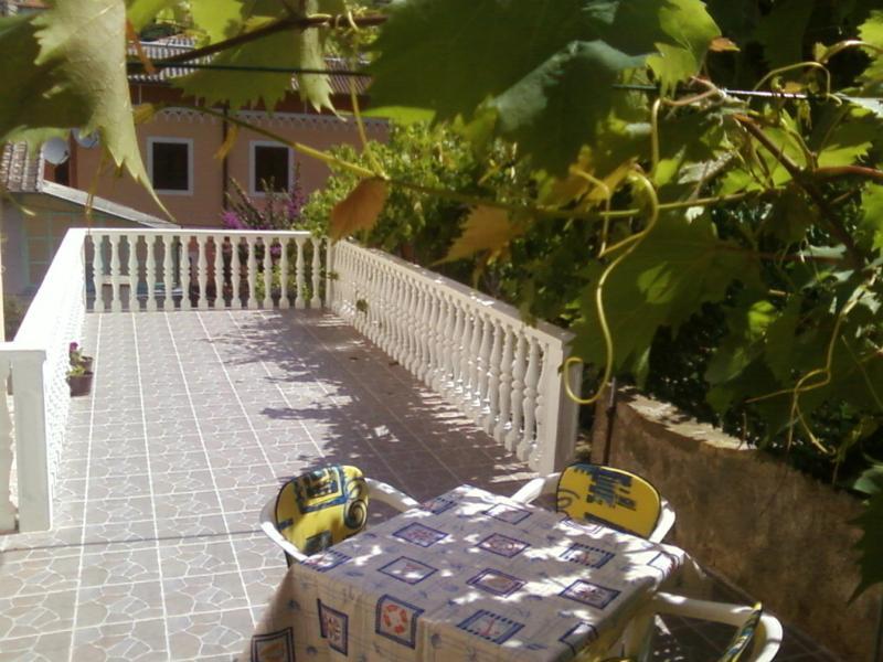 A3(2+1): terrace - 3353 A3(2+1) - Mali Losinj - Mali Losinj - rentals