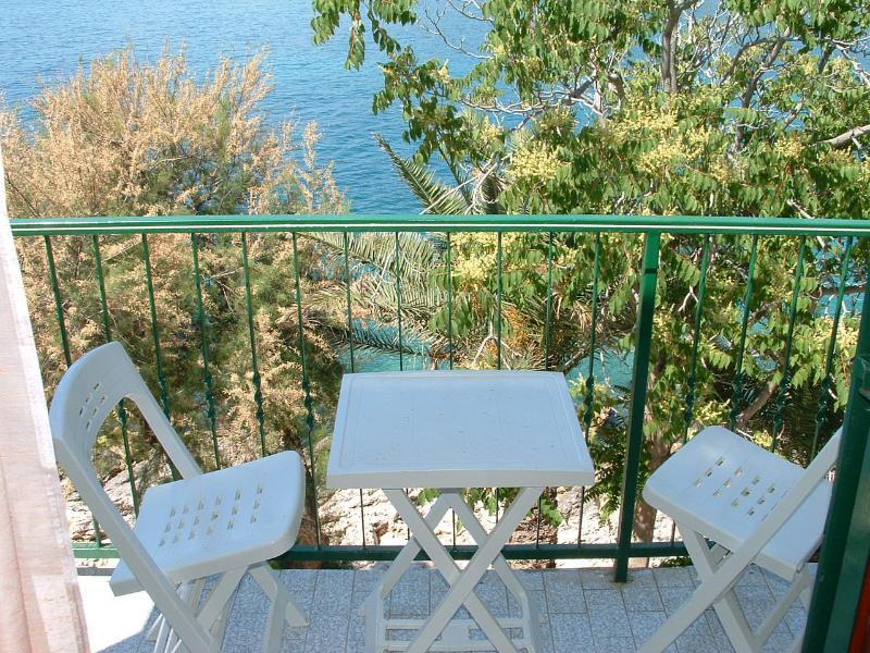 SA1(2): balcony - 00103HMIL SA1(2) - Milna (Hvar) - Milna - rentals