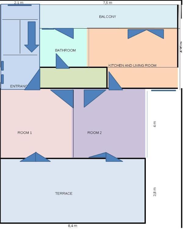 A1(4+2): floor plan - 4251  A1(4+2) - Malinska - Malinska - rentals