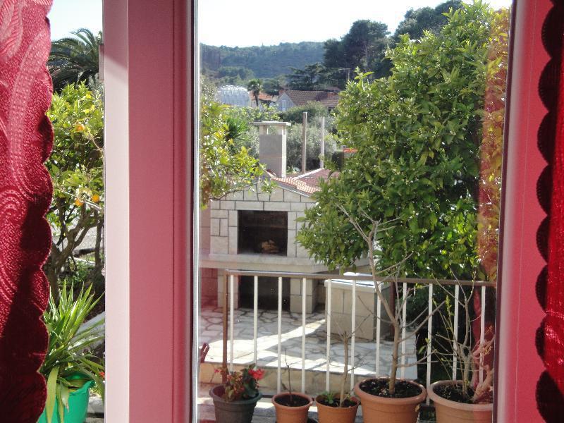 A2(2+1): terrace - 01714KORC A2(2+1) - Korcula - Korcula - rentals