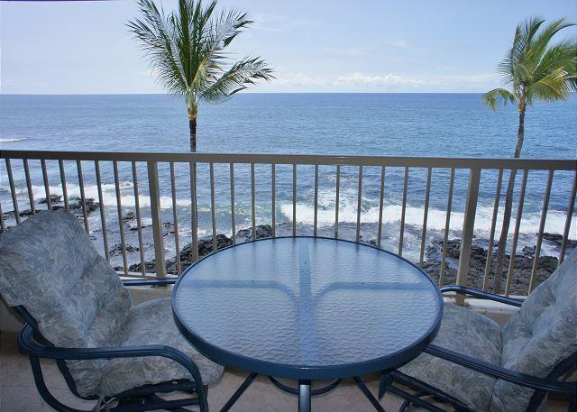 Ocean Front Lanai - Ocean Veiw At It's Best at Kona Reef D37, Walk to Kailua Kona Town! - Kailua-Kona - rentals