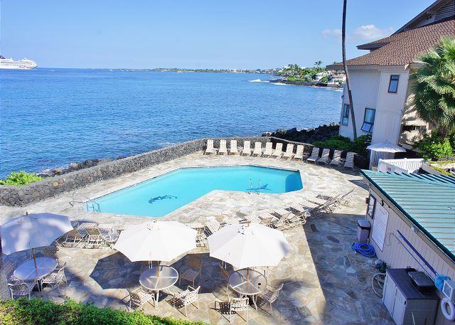 Ocean Front Complex Pool and Spa - Ocean Front Sea Village 4-106-SV4106 - Kailua-Kona - rentals