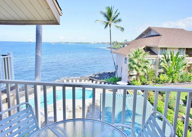 Nearly Ocean Front Lanai - Beautiful 2 bedroom 2 bath with great ocean view!-SV3309 - Kailua-Kona - rentals