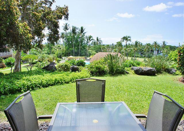 Ocean Views from Lanai - Ground floor spacious 2 bedroom with ocean views at Punahele B108-PunaB108 - Kailua-Kona - rentals