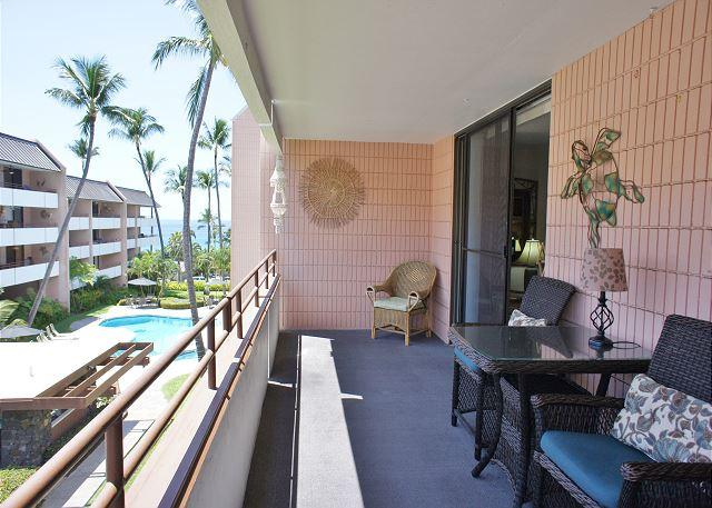 Ocean Views From Lanai - Ocean Views from 2 Bed, 2 Bath across the street from White Sands Beach!-WSV 210 - Kailua-Kona - rentals